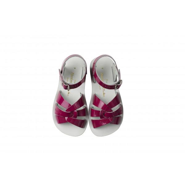 Saltwater Sun San Swimmer Shiny Fuschia Sandals
