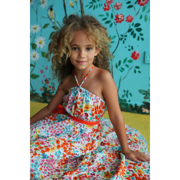 COCO & GINGER ROSE DRESS CREAM PARIS GYPSY