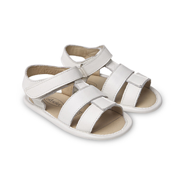 OLD SOLES HAPPY SANDAL WHITE