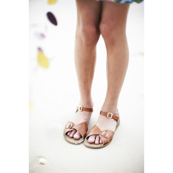 Saltwater Sandals Adult Classic White