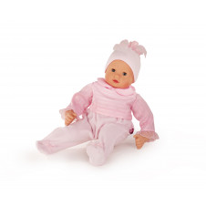 GOTZ 42CM MUFFIN BABY DOLL NO HAIR PINK OUTFIT