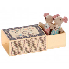 MAILEG MOUSE BABY TWINS IN A BOX