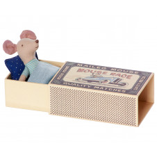 MAILEG MOUSE LITTLE BROTHER IN A BOX
