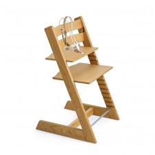 Stokke Trip Trapp Exclusive highchair range of timber chairs - european oak