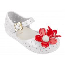 Mini Melissa Furadhina Flower White/Red