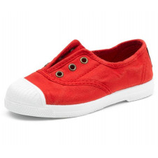 Red Natural World Made in Spain Canvas Shoe