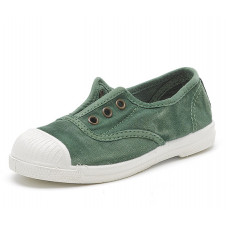 Green Natural World Made in Spain Canvas Shoe