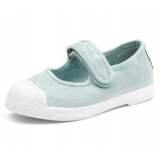 Mint Mary Jane Natural World Made in Spain Canvas Shoe