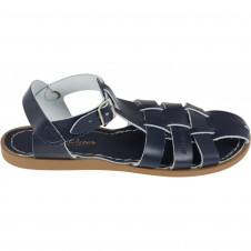 SALTWATER SHARK NAVY SANDALS