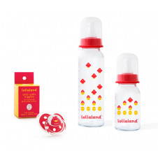 Lollaland Baby Bottle Gift Set