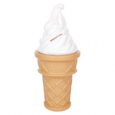 Swirl Icecream Bank Giant White