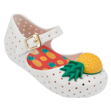 MINI MELISSA WHITE VII FURADINHA PINEAPPLE
