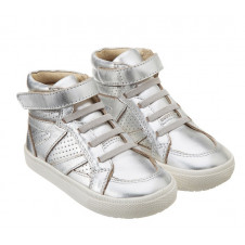 OLD SOLES SILVER WHITE SOLE STAR JUMPER