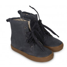 OLD SOLES DISTRESSED NAVY SWAG HIGH TOP
