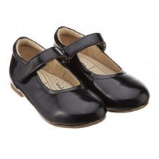 OLD SOLES PRALINE BLACK PATENT SHOES