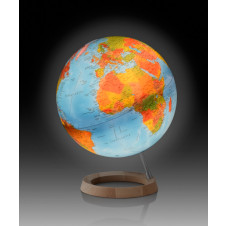 ATMOSPHERE GLOBE FULL CIRCLE WITH LED LIGHT - lit up