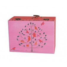 EGMONT MUSICAL JEWELLERY BOX BIRDHOUSE