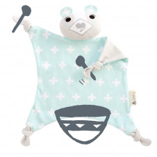 KIPPINS ORGANIC BILLIE THE BEAR COMFORTER