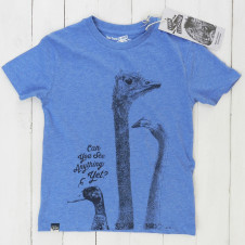 Lion of Leisure EMU tshirt BLUE