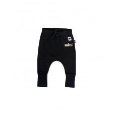 HUXBABY BLACK FLEECE HIGH CUFF PANT