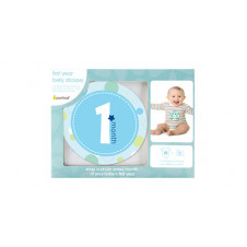 PEARHEAD BLUE MILESTONES BELLY STICKERS