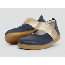 BOBUX IWALK DEMI BALLET SHOE NAVY