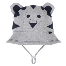 TIGER BABY BUCKET HAT WITH STRAP