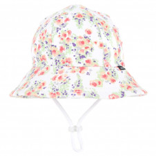 ELISE PONYTAIL BUCKET HAT WITH STRAP