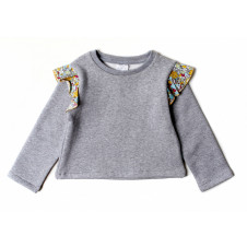 ALEX & ANT ZELLA CROP SWEAT