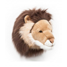 WILD AND SOFT Cesar the Lion Head