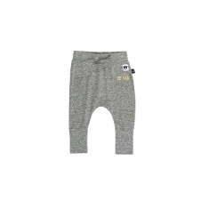 HUXBABY CHARCOAL HIGH CUFF PANT