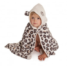 CUDDLEDRY BATH TOWEL LEOPARD