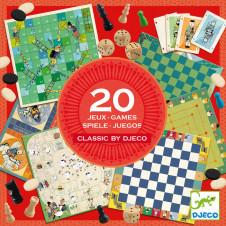 DJECO 20 CLASSICS GAME COMPENDIUM
