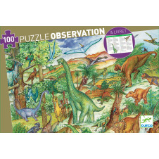 DJECO DINO OBSERVATION PUZZLE