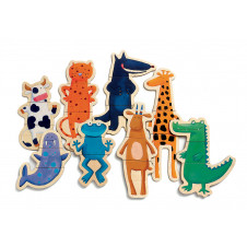 DJECO MAGNETIC CRAZY ANIMALS