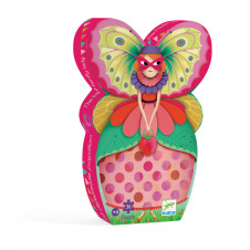 DJECO PUZZLE SILHOUETTE THE BUTTERFLY LADY 36PC