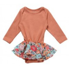 ALEX & ANT PEACH SKIRT ROMPER