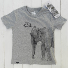 Lion of Leisure croc tshirt GREY