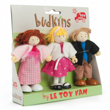 LE TOY VAN BUDKINS FAMILY 3 SET
