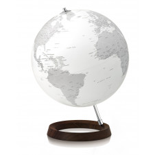 ATMOSPHERE GLOBE REFLECTION WHITE WITH LED LIGHT