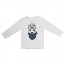 FOX & FINCH NICK PANDA PILOT TEE