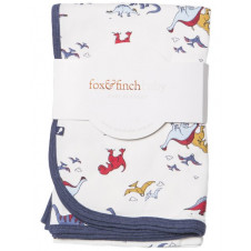 FOX & FINCH BUNNY RUG BROOKLYN PRINT