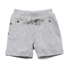 FOX & FINCH HARVARD RIB PULL ON DOUBLE WAIST SHORT