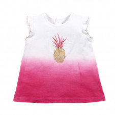 BEBE WAIKIKI DIPPED PINEAPPLE TEE