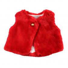 FOX AND FINCH MONTREAL FAUX FUR VEST