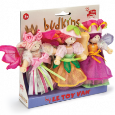 LE TOY VAN BUDKINS GARDEN FAIRIES TRIPLE PACK