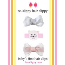 Gift Pack A No Slippy Hair Clippy Babys First Hair Clips
