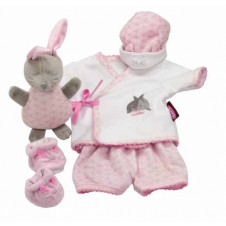GOTZ PJAMAS SET WITH RABBIT TOY FOR 40-50CM DOLL