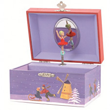 EGMONT MUSICAL JEWELLERY BOX ICE SKATER