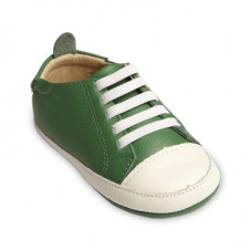 OLD SOLES EAZY TREAD SHOE GREEN WHITE